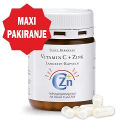 Vitamin C i cink kapsule sa vremenskim otpuštanjem