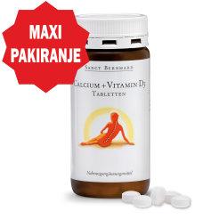 krauterhaus kalcij i vitamin D3 tablete
